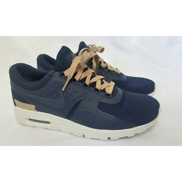 buy popular 87f4d 50985 🌸Nike Air Max Zero Ladies Size 8 Navy Blue White